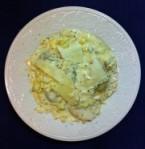 Mushroom Ravioli_Artichoke Alfredo Sauce