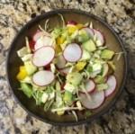 Pozole Fixin's Salad